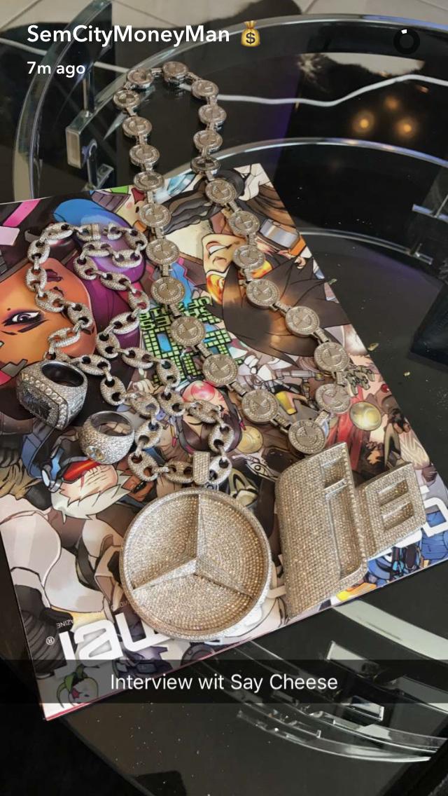 "Gucci Link Chain >> Philthy Rich ""i8"" Video and Jewelry Splash | Splashy Splash"