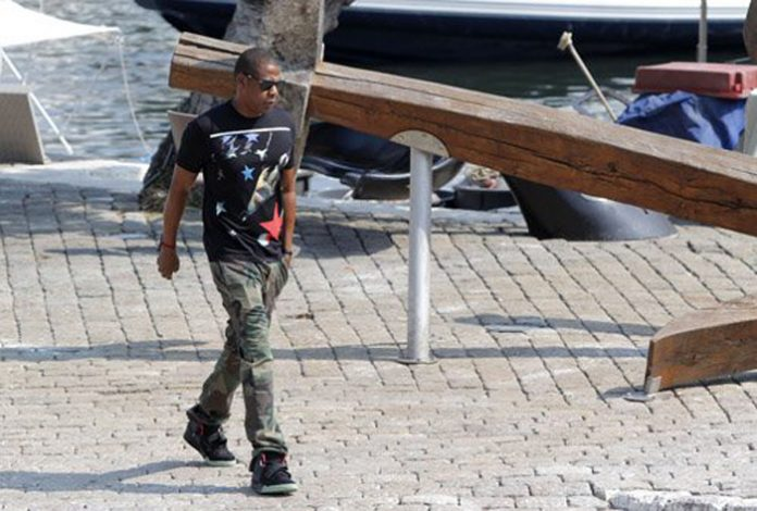 Jay-z-givenchy-apache-star-t-shirt-air-Yeezy-2-Persol-sunglasses