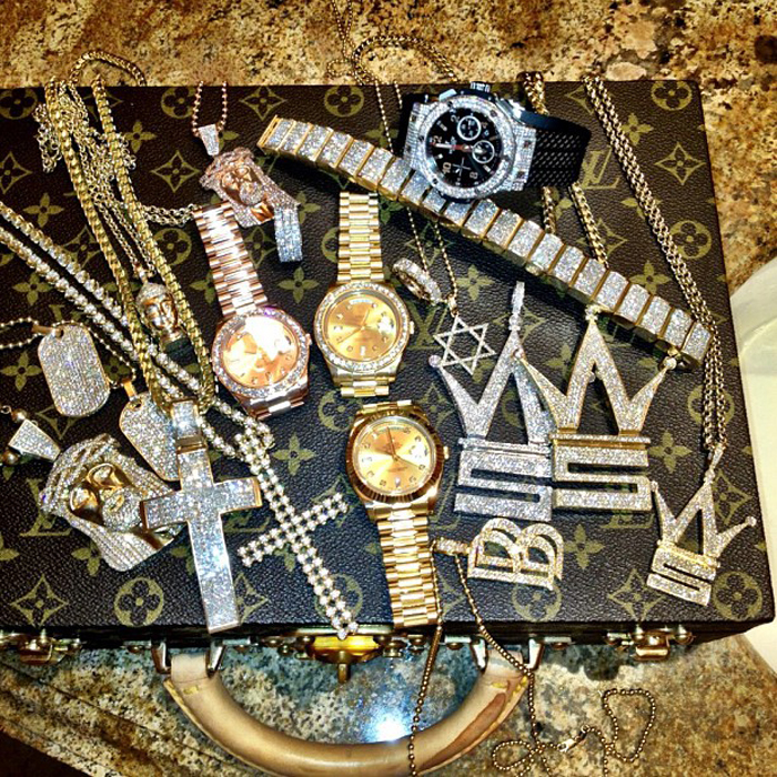 Iced Out Worldstarhiphop Pendants For Q By Ben Baller