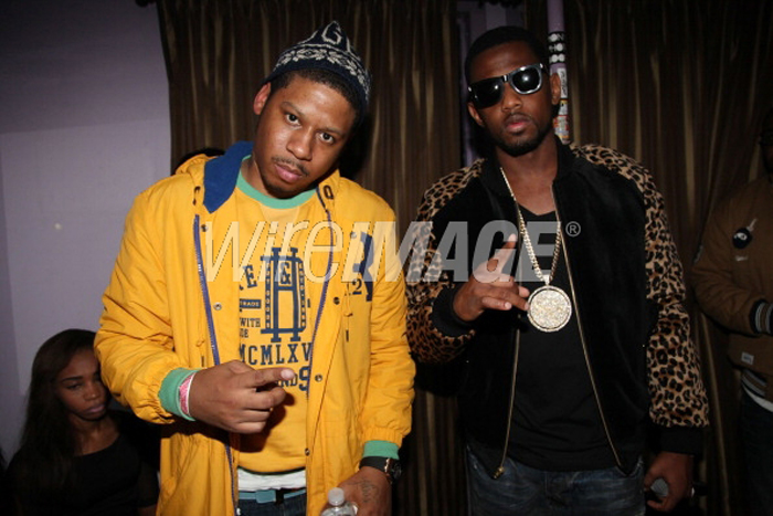 Vado Wearing Yellow Rugby Long Stadium Coat Splashy Splash