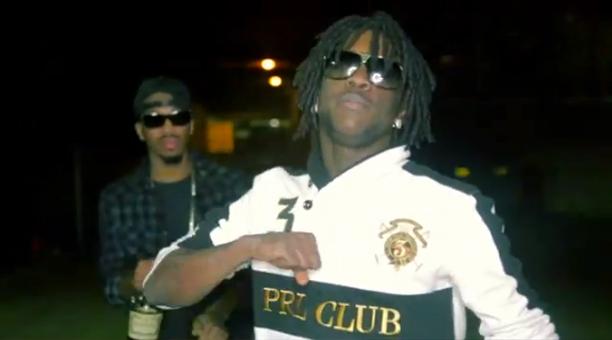 Chief Keef Wearing Polo Ralph Lauren Shawl Collar Prl Club