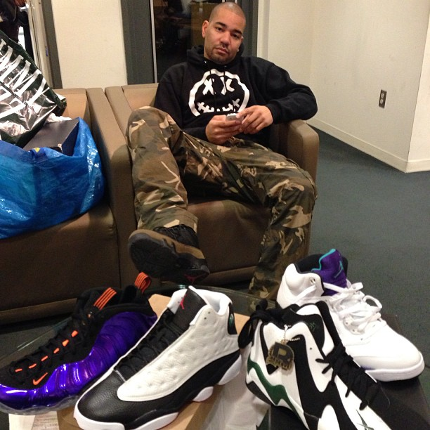 DJ Envy Gets His Nike Air Foamposite One White Out 919bf24e56
