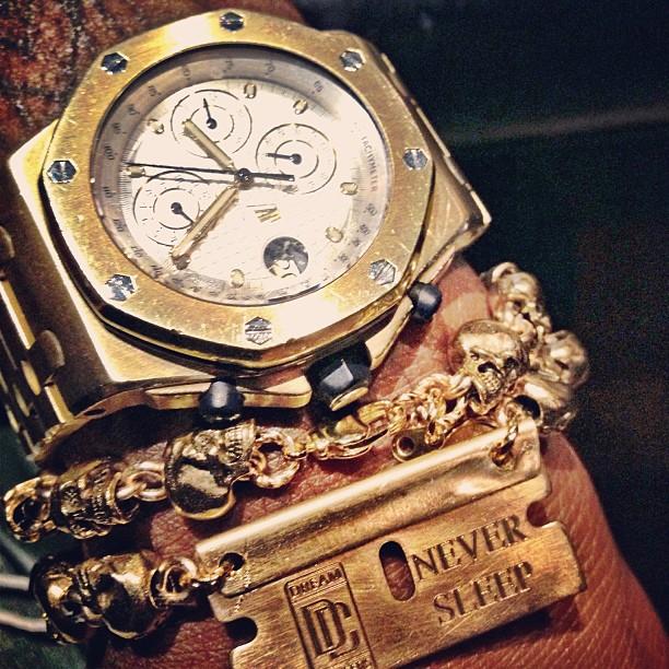 meek-mill-gold-audemars-piguet-royal-oak-offshore-watch