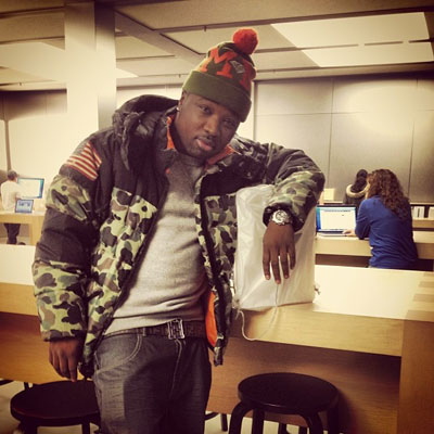 Troy Ave Wearing Denim And Supply Ralph Lauren Camo