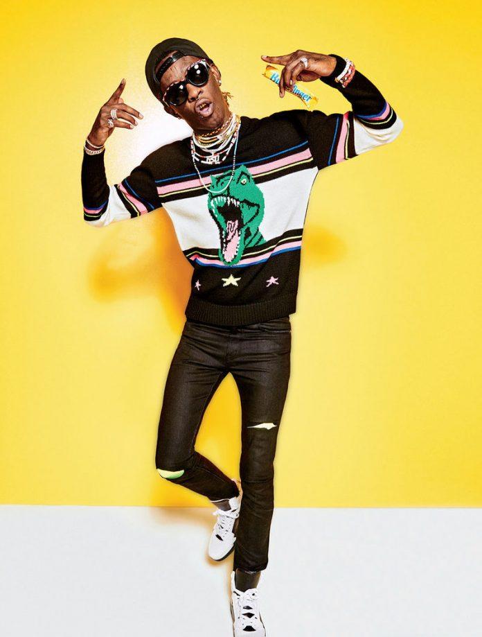 young-thug-saint-laurent-dinosaur-sweater-gq